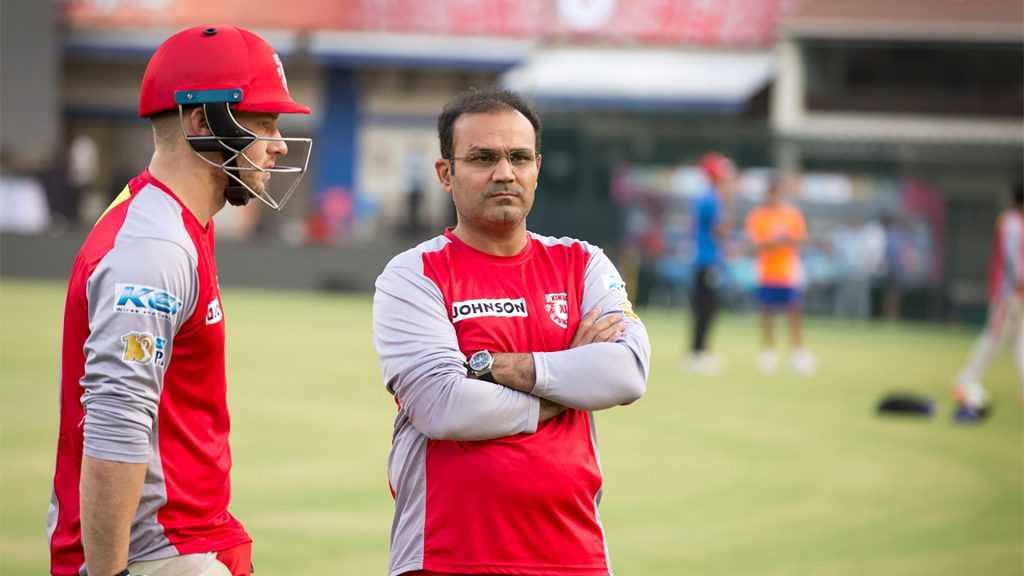 Sehwag as a mentor