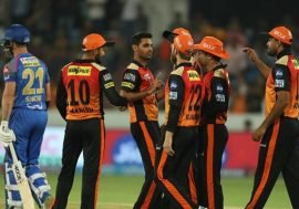 Sunrisers Hydrabad Vs Mumbai Indians