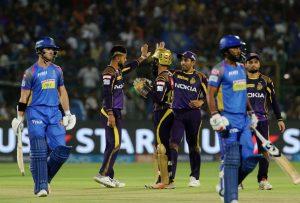 Kolkata Knightriders Vs Rajasthan Royals