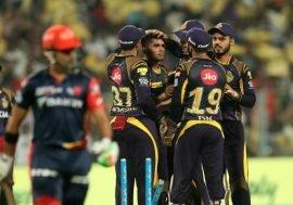 Kolkata Knightriders beat Delhi Daredevils