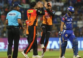 Mumbai Indian vs Sunrisers Hydrabad
