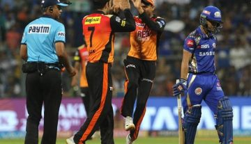 Mumbai Indian vs Sunrisers Hydrabad