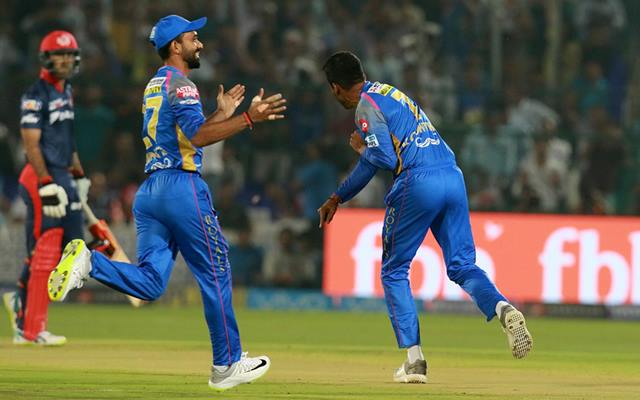 Rajasthan Royals win