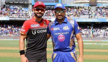 Royal Challengers VS Mumbai Indians