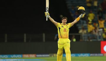Shane Watson hits century in just 51 balls