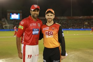 Sunrisers Hydrabad VS Kings 11 Punjab