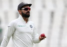 Virat Kohli during Test Match
