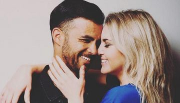 JP Duminy with his wife