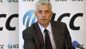 ICC Chaiman Dave RichaardsonICC Chaiman Dave Richaardson