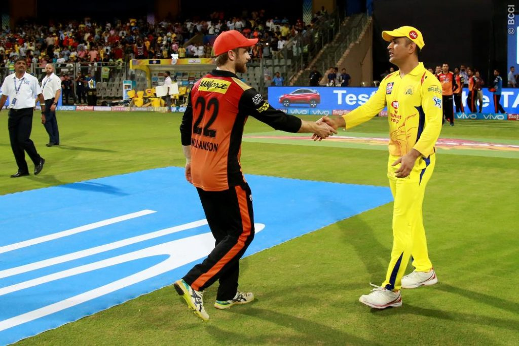 Chennai Super Kings VS Sunrisers Hydrabad