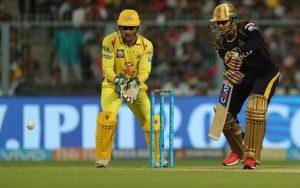 Chennai Super Kings lost to KKR