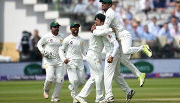 Pakistan test team