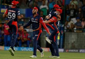 Delhi Daredevils beat Rajasthan by 4 runs