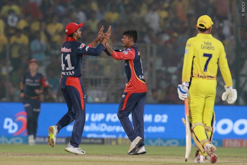 Delhi beat Chennai