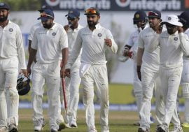 India vs srilanka galle test