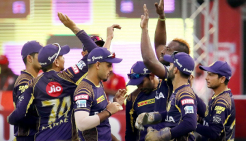 KKR win against KXIP