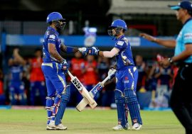 Mumbai Indians vs Kings XI Punjab