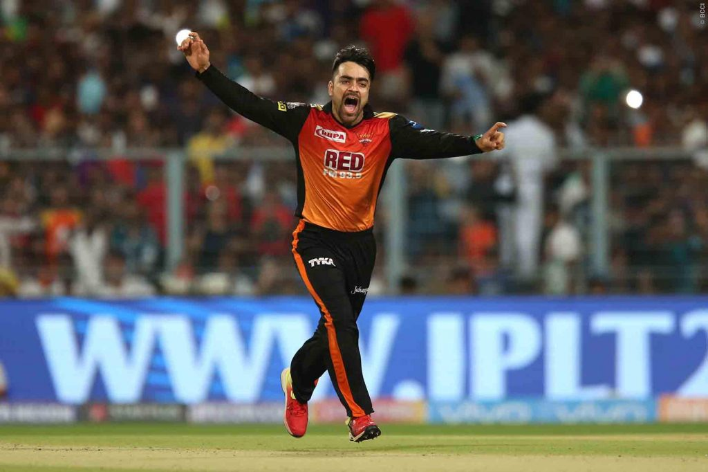 Rashid Khan, star player of Sunrisers Hydrabad