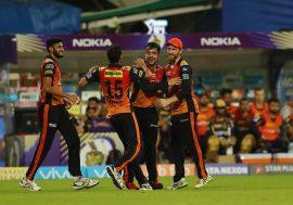 SRH REACHES FINALS OF IPL 2018