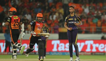 Sunrisers Hydrabad VS Kolkata Knightriders