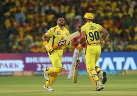Suresh Raina and MS Dhoni, CSK
