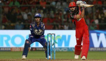 Virat Kohli vs Mumbai Indians