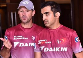 Ricky Ponting and Gautam Gambhir