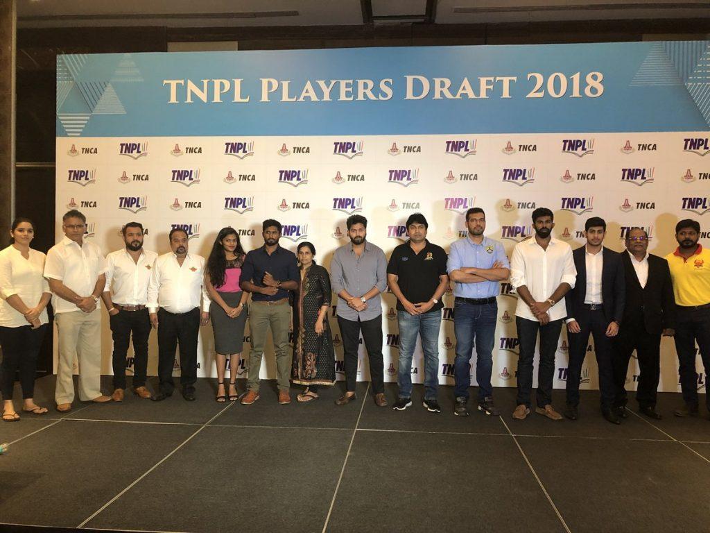 TNPL 2018 Players Draft