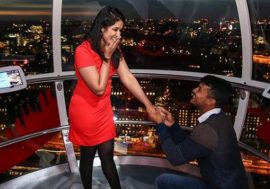 Mayank agrawaal proposing her girlfriend