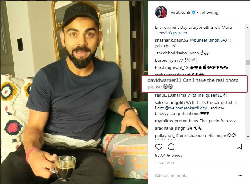 virat-kohli-and-david-warner-insta