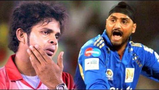 sreesanth and bhajji