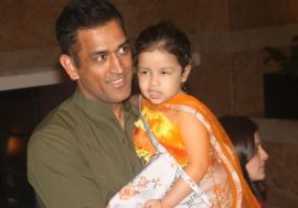 Dhoni and Ziva